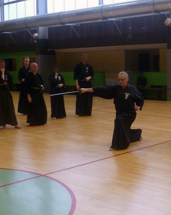 Dominique LOSSON Renshi 6 Dan Iaido